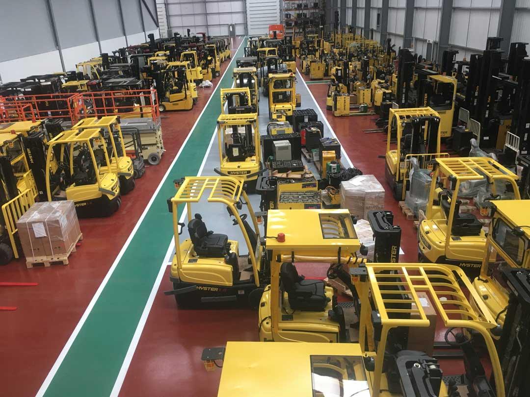Industrial Floor Painting Contractor Midlands Based