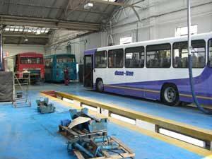 Vehicle Workshop Bus Garage