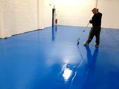 Warehouse Floor Painting Roller